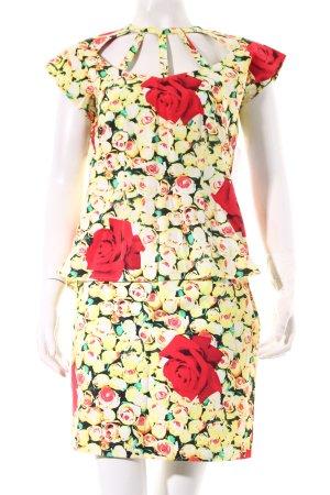 Joop! Kostüm Blumenmuster Romantik-Look
