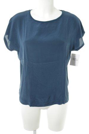 Joop! Kurzarm-Bluse dunkelblau Casual-Look