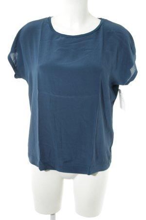 Joop! Kurzarm-Bluse dunkelblau Elegant