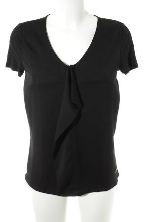 Joop! Kurzarm-Bluse schwarz Elegant