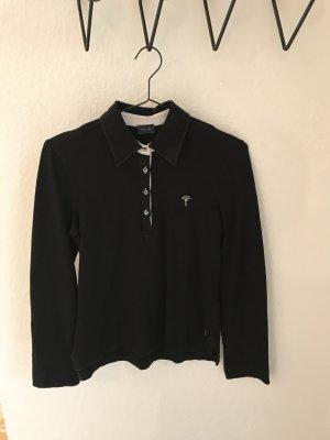Joop, langärmeliges Poloshirt im angesagten schwarz weiß Style