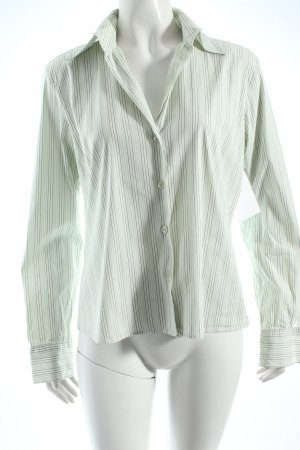 Joop! Langarm-Bluse hellgrün Streifenmuster klassischer Stil
