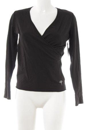 Joop! Langarm-Bluse schwarz Street-Fashion-Look