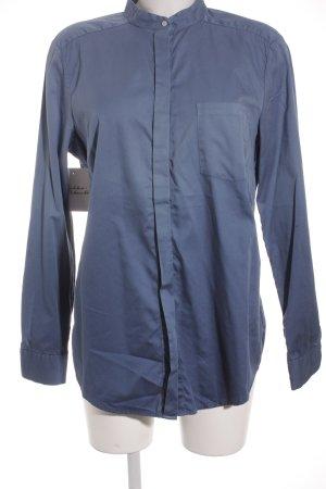 Joop! Langarm-Bluse stahlblau Farbverlauf Casual-Look