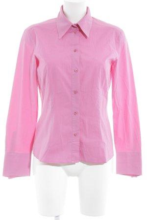 Joop! Camisa de manga larga rosa estilo «business»