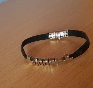 Joop Leder Armband 925 Silber !!