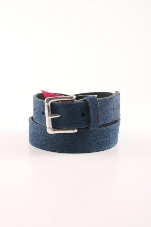 Joop! Cintura di pelle blu stile casual