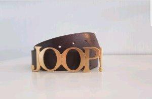 JOOP! Ledergürtel / Dunkelbraun /Damen Gr. DE 80 Gürtel