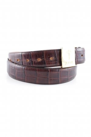 Joop! Leather Belt multicolored elegant