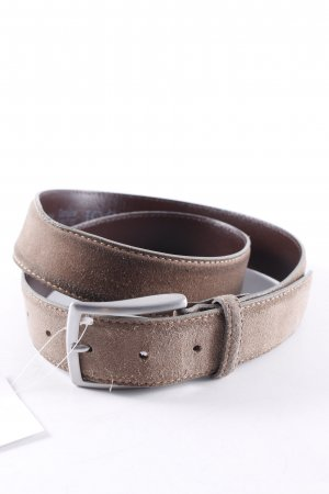 Joop! Leather Belt olive green casual look