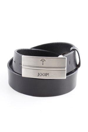 Joop! Cintura di pelle nero stile classico