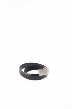 Joop! Ledergürtel schwarz klassischer Stil