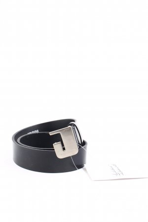 Joop! Leather Belt black embossed logo