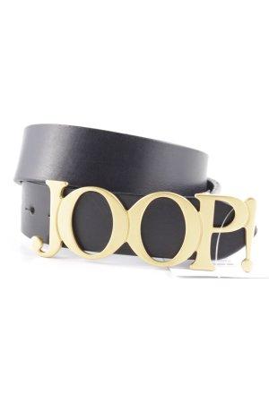Joop! Ledergürtel schwarz Street-Fashion-Look