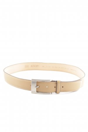Joop! Leather Belt natural white business style