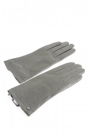 Joop! Leather Gloves light grey casual look