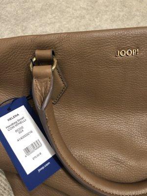 JOOP Lederhandtasche Braun