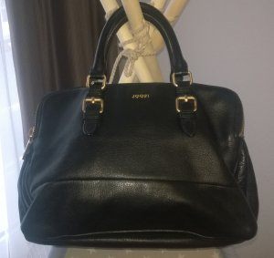 JOOP! Lederhandtasche schwarz