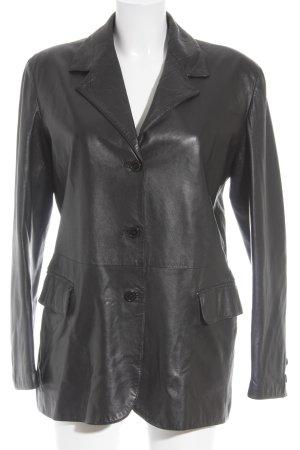 Joop! Lederjacke schwarz 90ies-Stil