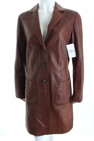 Joop! Ledermantel braun Country-Look