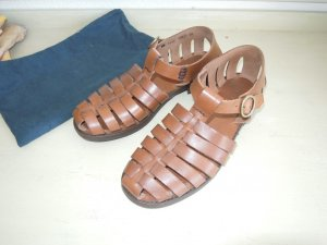 Joop! Sandalias de tiras marrón