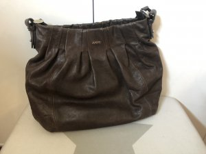 Joop! Pouch Bag brown-dark brown leather