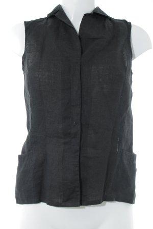 Joop! Blusa de lino negro look casual