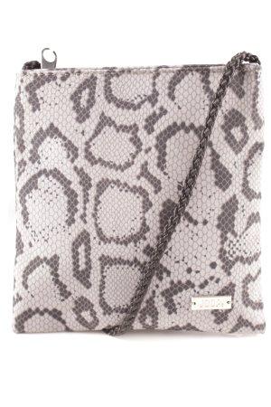 Joop! Borsetta mini antracite-grigio stampa integrale impronta animale