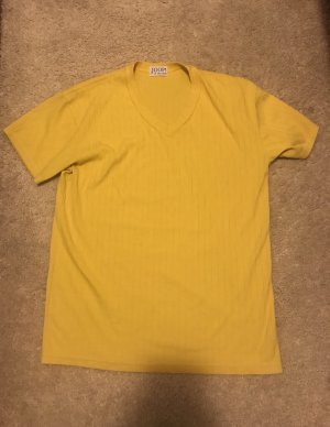 Joop! Jersey de manga corta amarillo