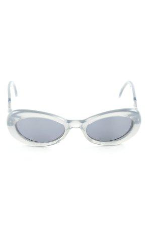 Joop! Ovale zonnebril grijs-zilver Jaren 50 stijl
