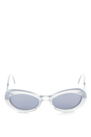 Joop! ovale Sonnenbrille grau-silberfarben 50ies-Stil