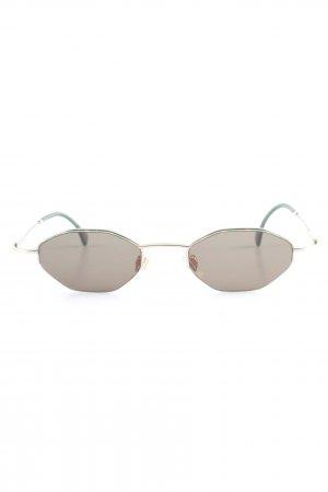 Joop! Oval Sunglasses green-gold-colored color gradient classic style