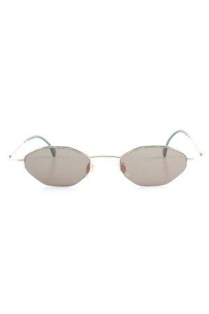 Joop! ovale Sonnenbrille grün-goldfarben Farbverlauf klassischer Stil