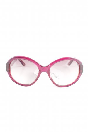 Joop! Oval Sunglasses lilac-red color gradient street-fashion look
