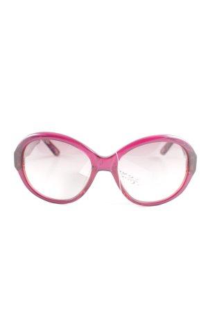 Joop! Ovale zonnebril lila-rood kleurverloop straat-mode uitstraling