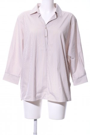 Joop! Oversized Blouse white-brown striped pattern business style
