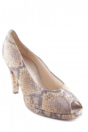 Joop! Peeptoe Pumps Animalmuster Animal-Look