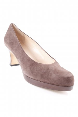 Joop! Plateau-Pumps braun Business-Look