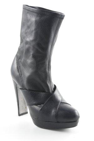 Joop! Plateau-Stiefeletten schwarz extravaganter Stil
