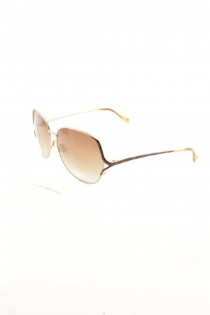 Joop! Retro Brille beige-goldfarben Tortoisemuster Casual-Look