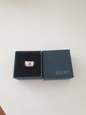 Joop! Zilveren ring lichtgrijs