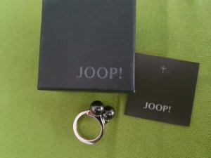 JOOP! Ring 925er Silber mit 2 grauen Perlen