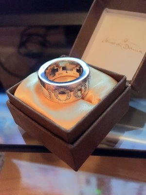 JOOP Ring Silber 925 Größe 51