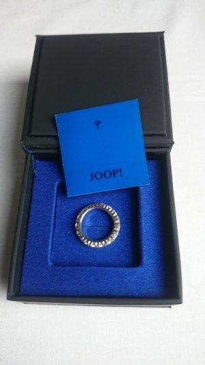 Joop! Anello d'argento argento-bianco Argento