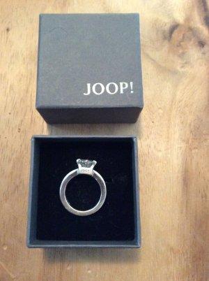 Joop Ring, Verlobungsring, 925 Silber mit Zirkonia Stein, weiß