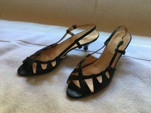 Joop! Sandales à talons hauts et lanière noir
