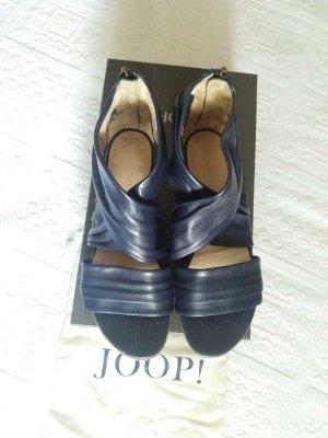 Joop sandalette in mariene blau classisch