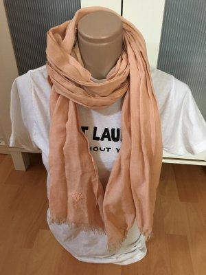 Joop ! Schal Tuch scarf rosa top leinen Baumwolle