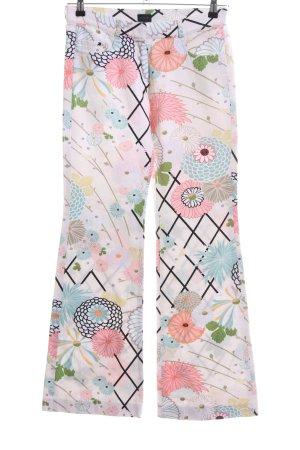 Joop! Pantalón de campana estampado floral look casual
