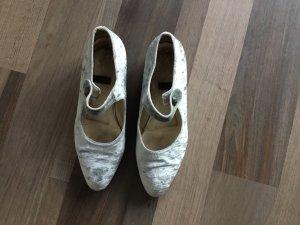 Joop Schuhe - samt hellgrau Größe 39